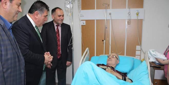 Devlet Hastanesi'nde özel odalar yenilendi