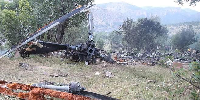 Şırnak'ta helikopter düştü! 13 asker şehit oldu