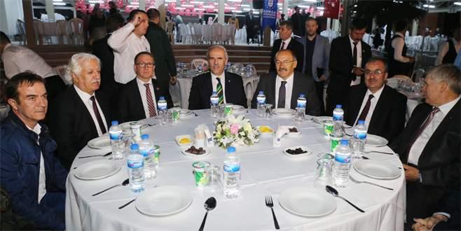 Harmancık'ta iftar bereketi