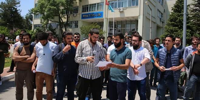 Uludağ Üniversitesi Rektörü'ne istifa çağrısı