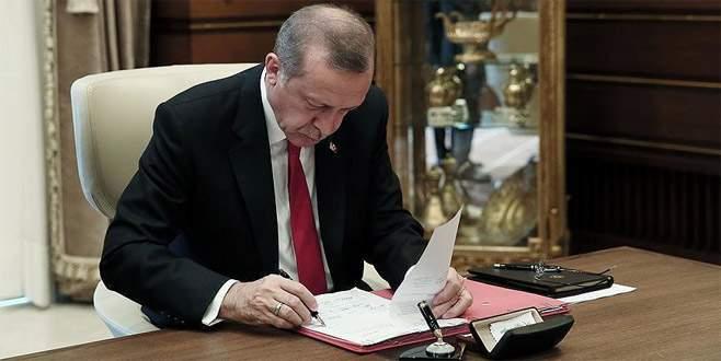 Cumhurbaşkanı Erdoğan'dan 3 üniversiteye rektör ataması