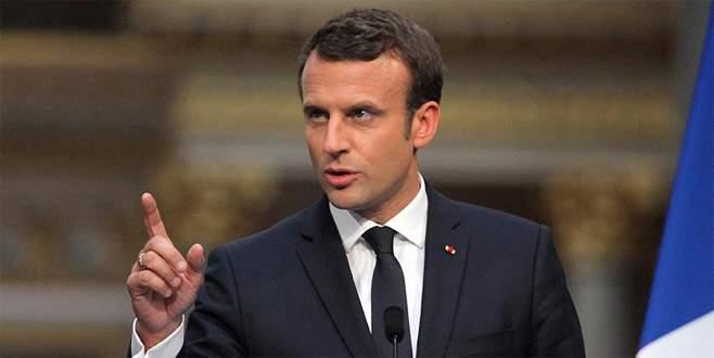 Macron: 'Fransa ABD'ye sırtını dönmeyecek'