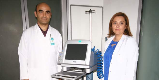 Yenişehir'de dikişsiz katarakt ameliyatı başladı