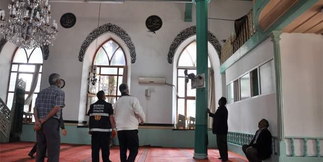 Camiye giren yavru kargaları itfaiye ekipleri çıkardı