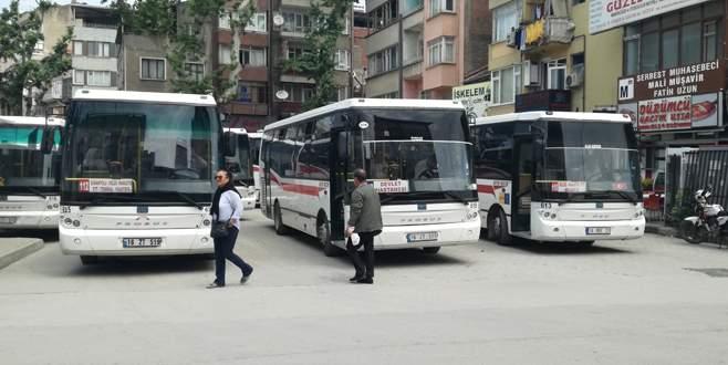 Gemlik şehiriçi otobüslerine yeni düzenleme