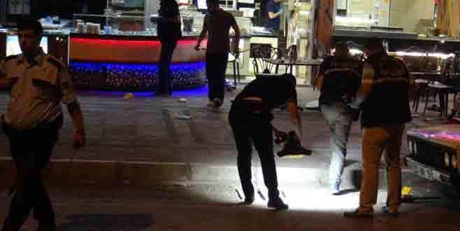 Mersin'de künefeciye silahlı saldırı: 6 yaralı