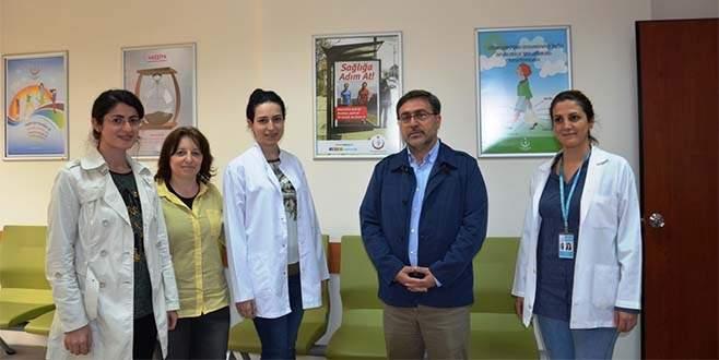 Bursa sağlıkta Türkiye'ye örnek oluyor