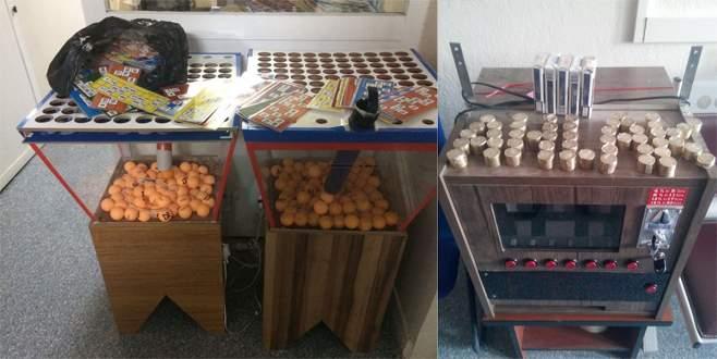 Bursa'da kahvehanelere kumar baskını