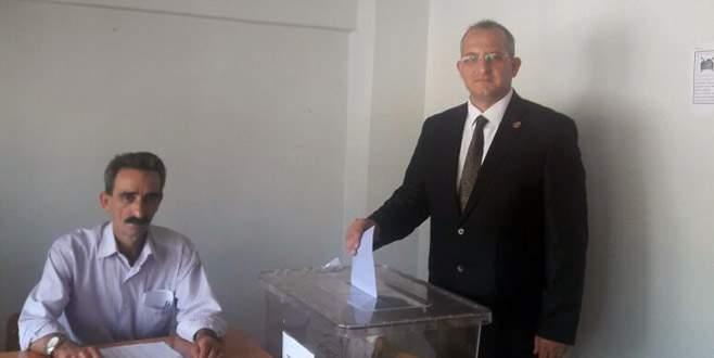 Balaban'da muhtarlık seçimi