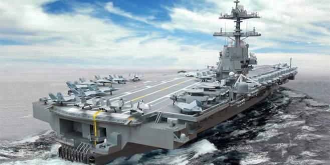 ABD'nin en pahalı uçak gemisi