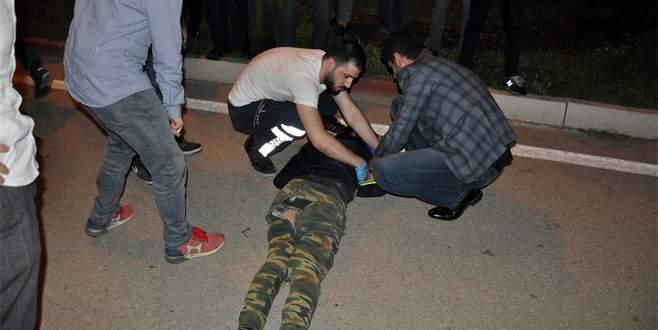 Bursa'da Suriyeli gençler ölümden döndü