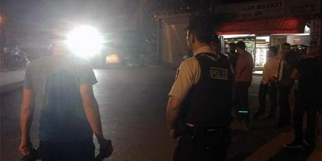 Bursa'da iftar vakti karakolda bomba paniği
