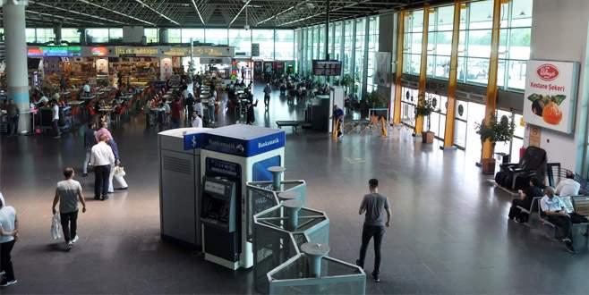 Bursa Terminalinde Ramazan Bayramı yoğunluğu
