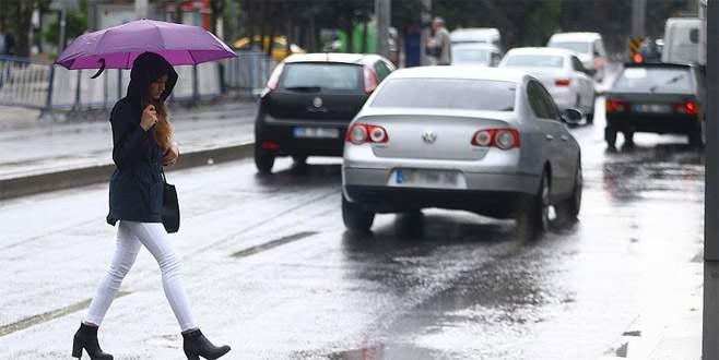 Bursa'ya kuvvetli yağış uyarısı