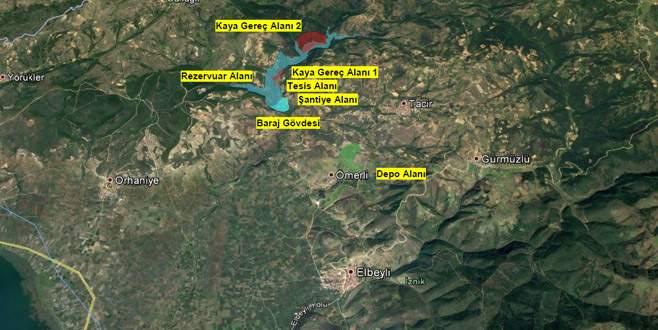 İznik'e dev barajda geri sayım