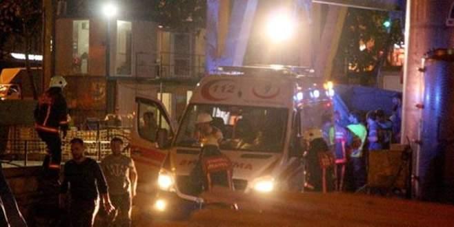Metro inşaat alanında iş kazası: 1 yaralı