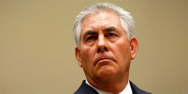 ABD Dışişleri Bakanı Tillerson Türkiye'ye geliyor