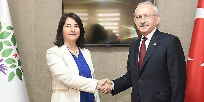 CHP Genel Başkanı Kılıçdaroğlu'ndan HDP'ye ziyaret