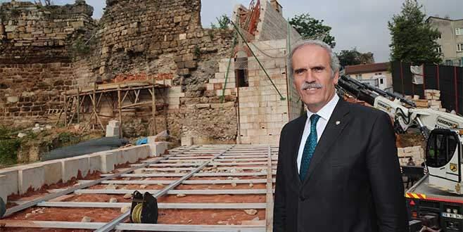Bursa'da harabeden çıkan tarih: Zindan Kapı