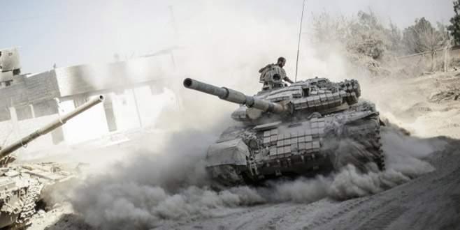 Esad Irak sınırında
