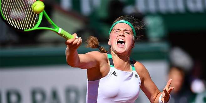 Fransa Açık'ta şampiyon Ostapenko