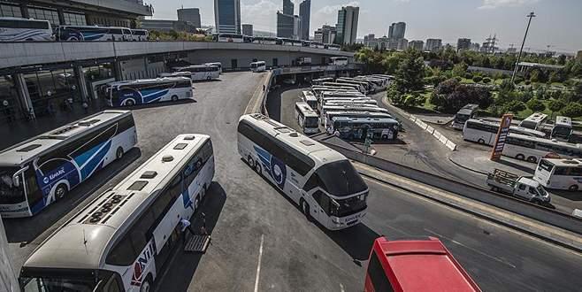 Bayram yoğunluğuna otobüs takviyesi
