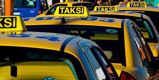 Bursa'da taksilere de kamera sistemi zorunlu oldu
