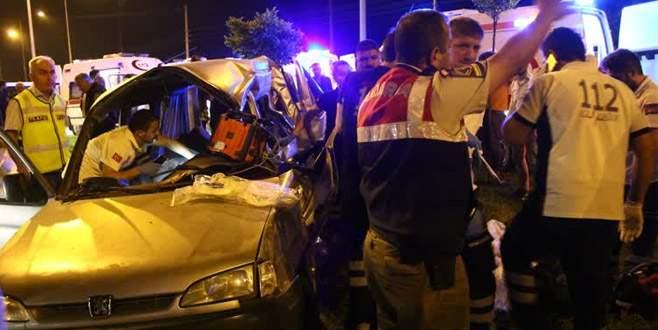 Feci kazada aynı aileden 5 kişi öldü!