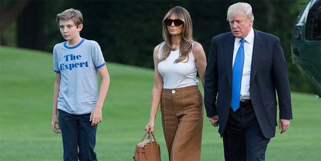 Melania Trump sonunda Beyaz Saray'a taşındı