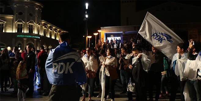 Kosova'da 'PAN' ittifakı zaferini ilan etti