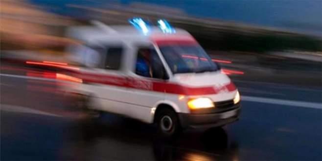 Mayına basan asker yaralandı