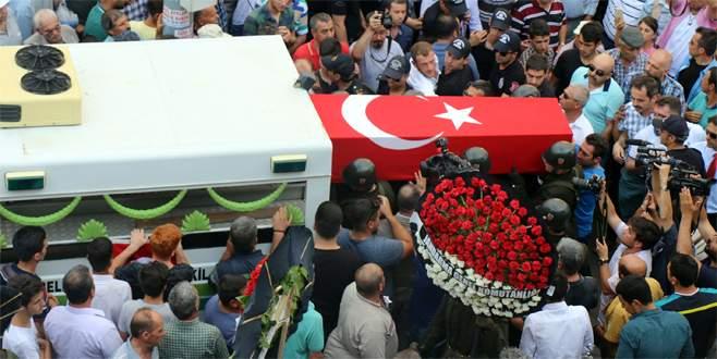 Şehit Jandarma Uzman Onbaşı Demirkıran'a son veda