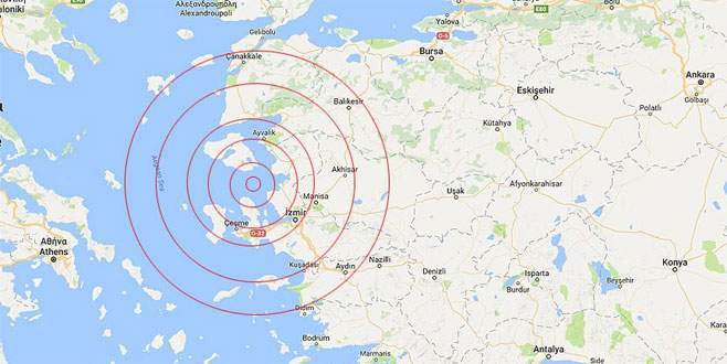 Ege beşik gibi: 12 saatte 35 deprem…