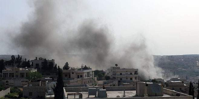 PKK/PYD Halep'in batısında ilerlemeye çalıştı