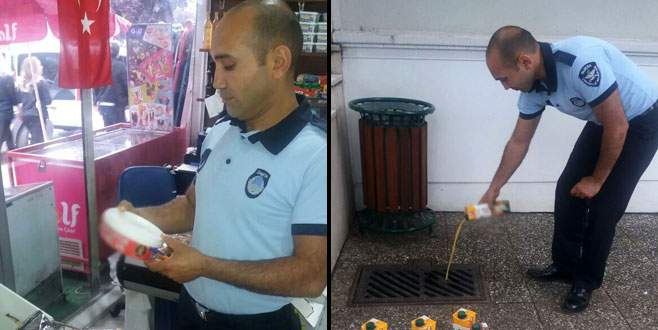 Osmangazi'de sağlıksız gıdaya geçit yok