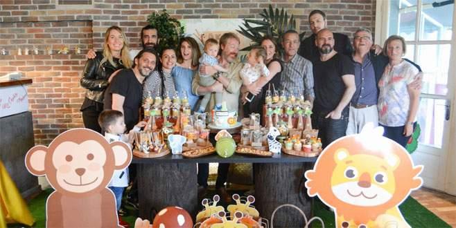 İçerde oyuncuları doğum günü partisinde buluştu
