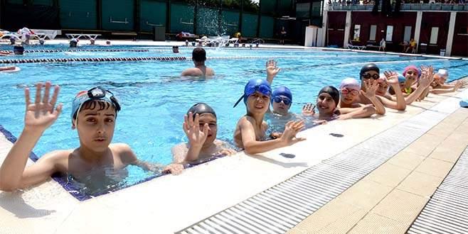 Osmangazi'de havuzlar cıvıl cıvıl