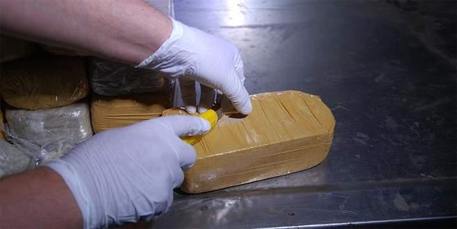 Gemide 212 kilo kokain ele geçirildi