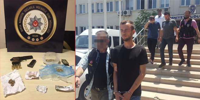 Bursa'da zehir tacirleri kıskıvrak yakalandı