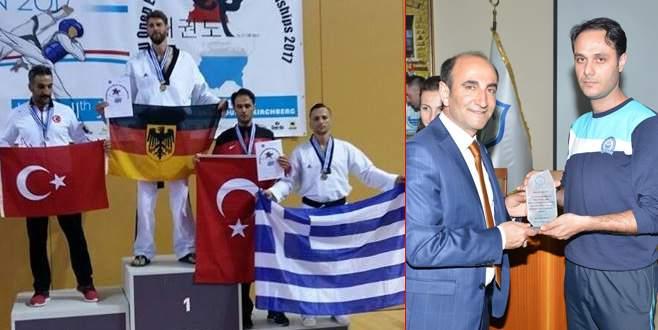Yıldırımlı taekwondocudan uluslararası başarı