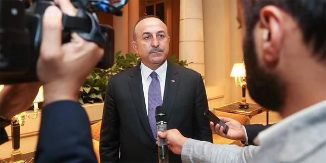 Çavuşoğlu: Türkiye ve Erdoğan sorunu çözmek için elinden geleni yapıyor