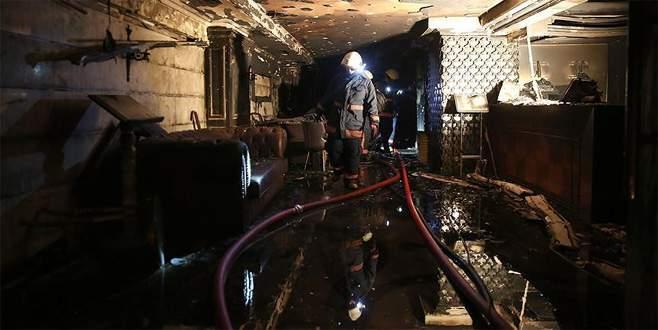 Kumkapı'daki otel yangını soruşturmasında tutuklama