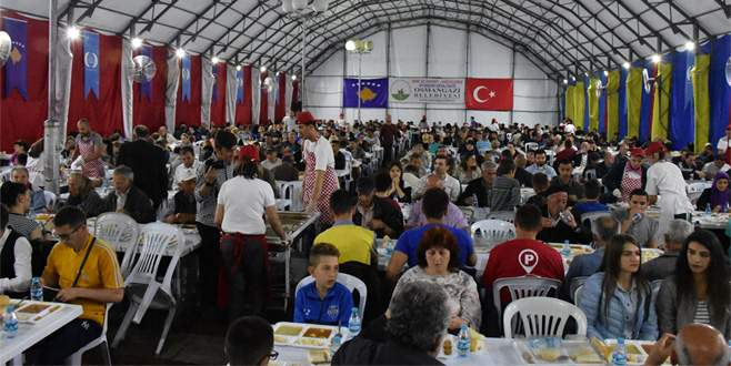 Bursa'dan Kosova'ya 'iftar köprüsü'