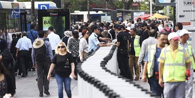 Kılıçdaroğlu'nun yürüyüşü için katılımcılar Güvenpark'a alınıyor