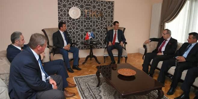 Başkan Dündar, Kosova'da temaslarda bulundu