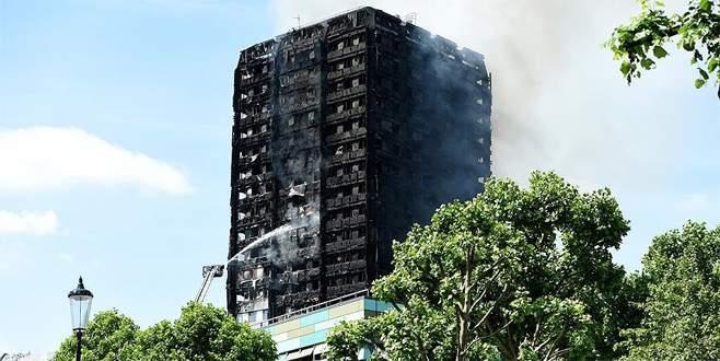 Londra'daki yangın faciasında ölü sayısı artıyor