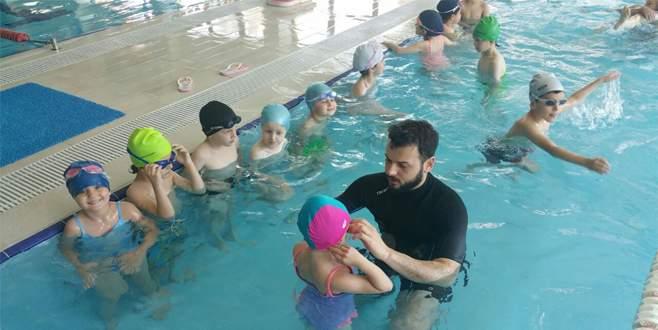 Sportown'da yüzme şenliği