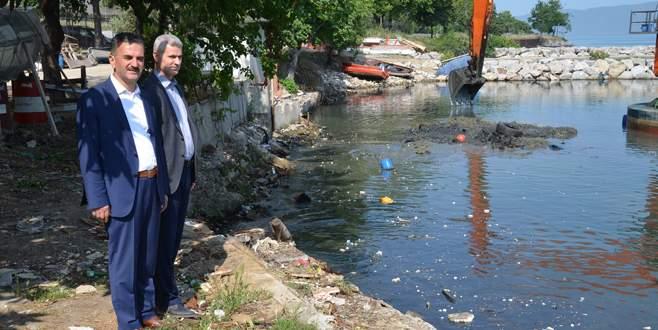 Balıkçı Barınağı'nda büyük temizlik başladı
