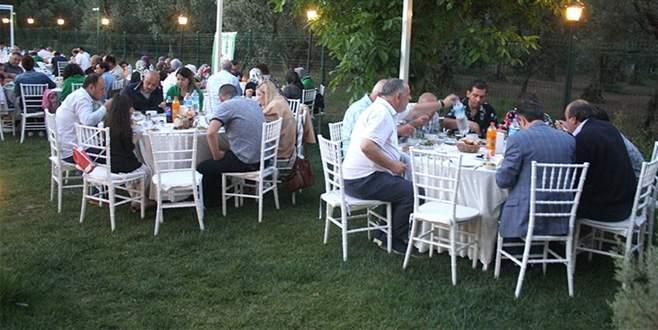 Gemlik'te iftar buluşması