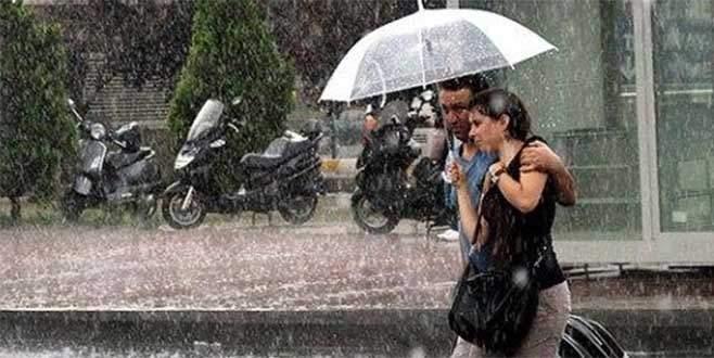 Meteoroloji'den Bursa'ya sağanak yağış uyarısı!
